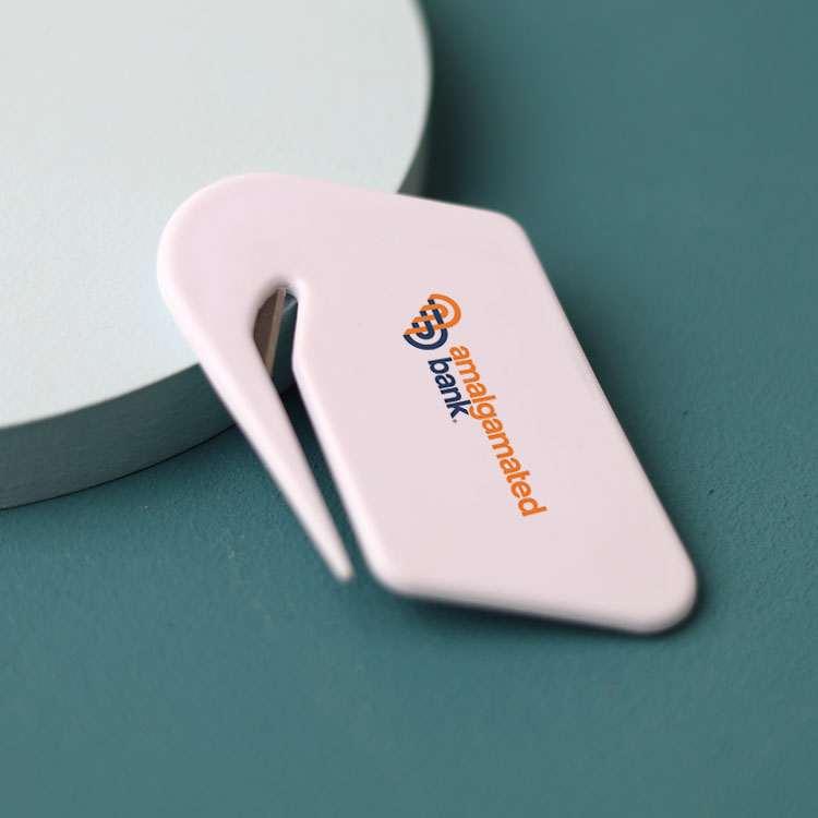 Wholesale custom  Plastic Letter Opener/Envelope Openner Premiums 2