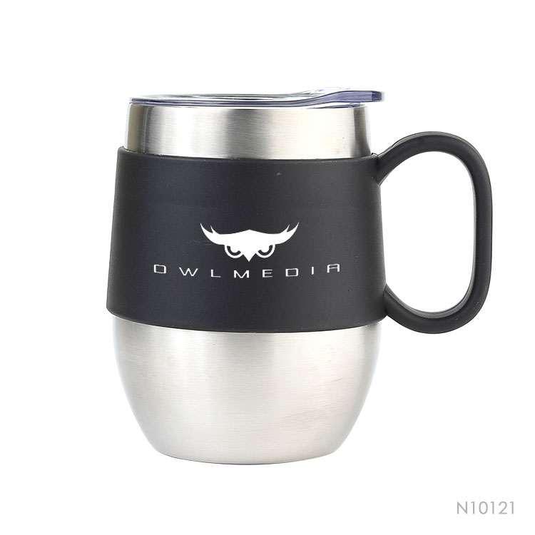 Wholesale custom  380ML Ceramic mug with cork base Drinkware 6