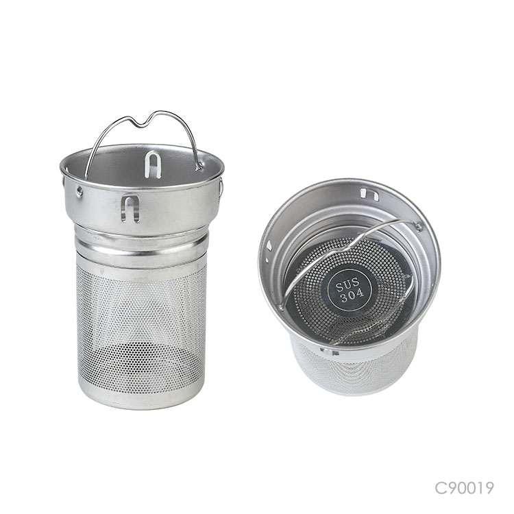 Wholesale custom  420ML Glass bottle with bamboo lid Drinkware 5