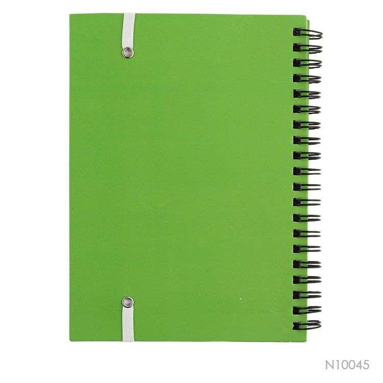 Wholesale custom  Cardboard Cover Winding Notebook Notebooks 2
