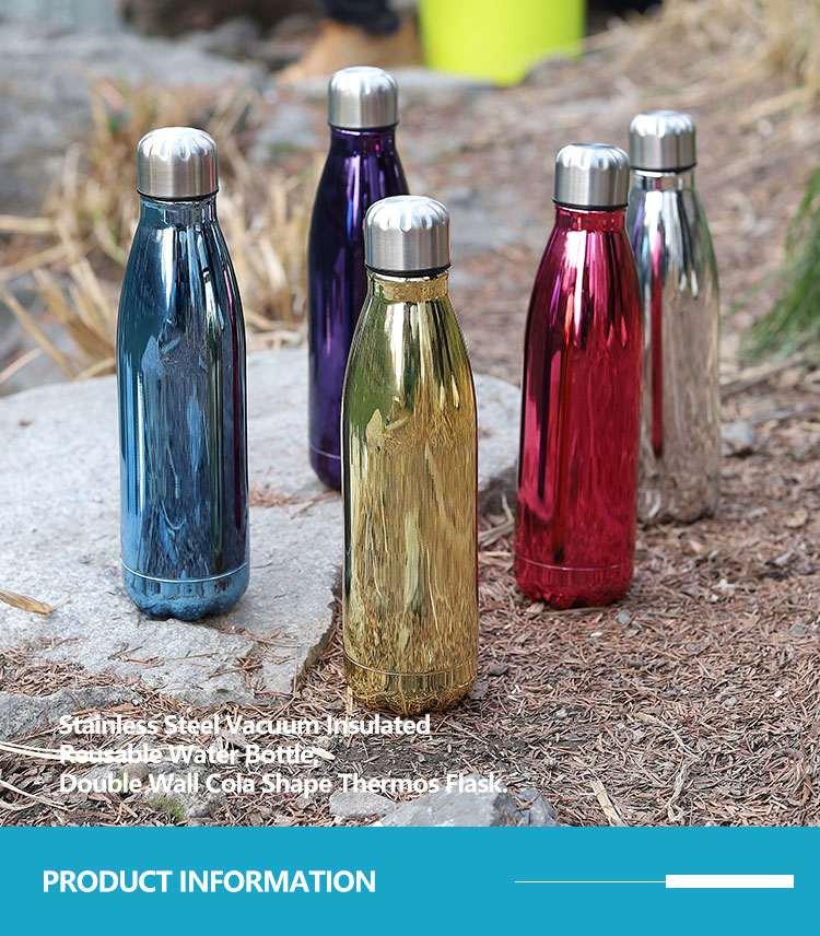 Wholesale custom  260ML Double-walled vaccum bottle Water Bottles 47