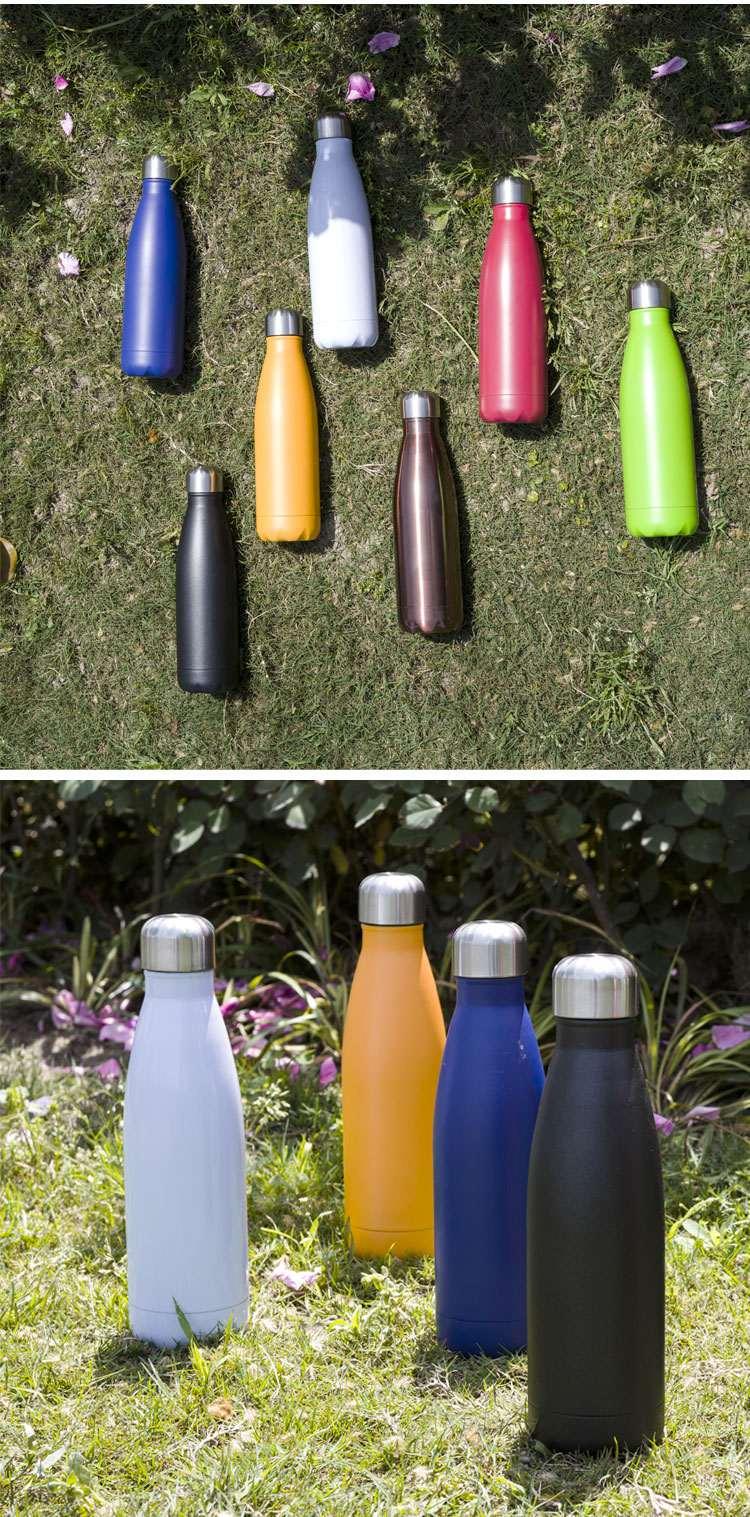 Wholesale custom  260ML Double-walled vaccum bottle Water Bottles 46
