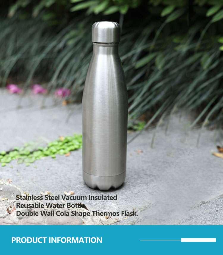 Wholesale custom  260ML Double-walled vaccum bottle Water Bottles 52