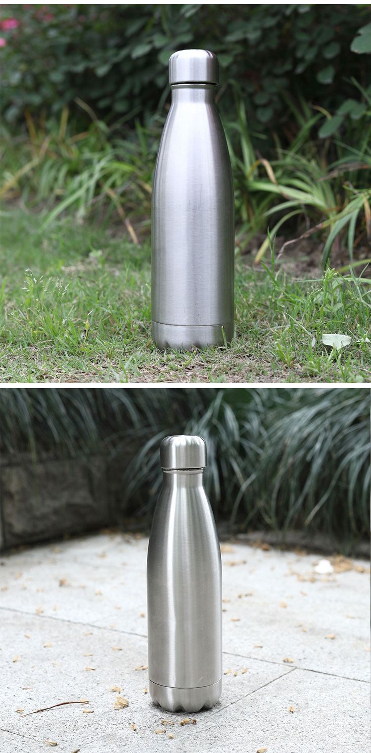 Wholesale custom  260ML Double-walled vaccum bottle Water Bottles 56