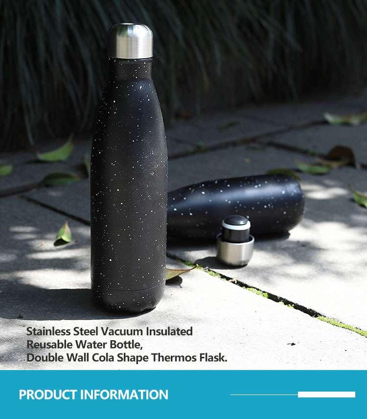 Wholesale custom  260ML Double-walled vaccum bottle Water Bottles 57
